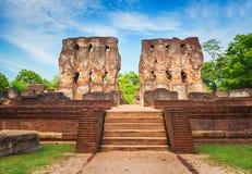 Royal Palace of King Parakramabahu. Royal Palace of King Parakramabahu in the world heritage city Polonnaruwa, Sri Lanka Stock Photography