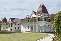 The Royal Palace of the Kingdom of Tonga Stock Photos