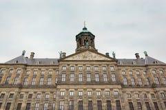 Royal Palace Koninklijk Paleis in Amsterdam, Netherlands Royalty Free Stock Photo