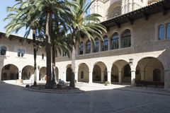 Royal Palace of La Almudaina, Palma de Mallorca Stock Photography