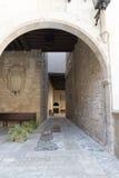Royal Palace of La Almudaina, Palma de Mallorca Stock Photos