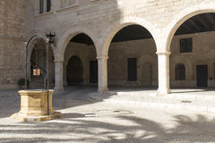 Royal Palace of La Almudaina, Palma de Mallorca Stock Images