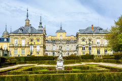 Royal Palace, La granja de San Ildefonso Photographie stock libre de droits