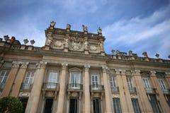 Royal Palace am La Granja de San Ildefonso in Segovia-Provinz, Spanien Stockfotografie