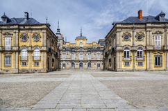 Royal Palace , La granja de san ildefonso Royalty Free Stock Photos