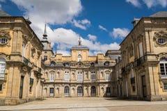 Royal Palace of La Granja de San Ildefonso Stock Photos