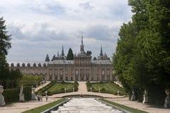 The Royal Palace of La Granja de San Ildefonso, Spain Royalty Free Stock Photos