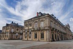 The Royal Palace of La Granja de San Ildefonso, Spain Stock Photos