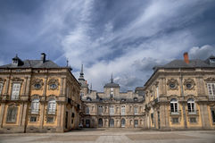 The Royal Palace of La Granja de San Ildefonso, Spain Royalty Free Stock Image