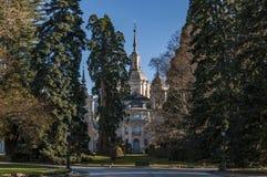 Royal Palace of La Granja Royalty Free Stock Photography