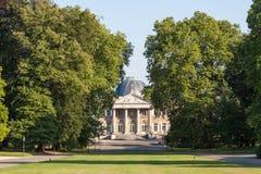 Royal Palace of Laeken in Brussels, Belgium Stock Image