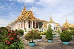 Royal Palace-Landschaft lizenzfreies stockfoto