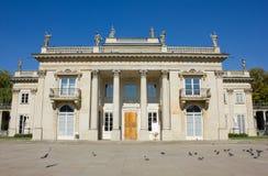Royal palace in Lazenki, Warsaw, Poland Stock Photos