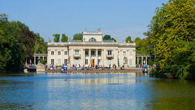 Royal palace in Lazenki, Warsaw, Poland Royalty Free Stock Images
