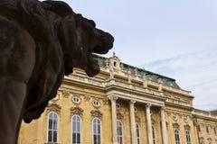 Royal Palace Lion Royalty Free Stock Photos