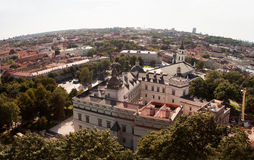 Royal Palace of Lithuania Stock Photos