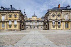 Royal Palace, los angeles Granja De San Ildefonso Zdjęcia Royalty Free