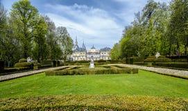 Royal Palace, los angeles Granja De San Ildefonso Fotografia Royalty Free