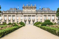 Royal Palace los angeles Granja De San Ildefonso, Hiszpania Obrazy Stock