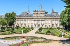 Royal Palace los angeles Granja De San Ildefonso, Hiszpania Zdjęcie Stock