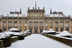 Royal Palace los angeles Granja De San Ildefonso, Segovia, Hiszpania Obrazy Royalty Free