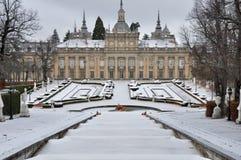 Royal Palace los angeles Granja De San Ildefonso, Segovia, Hiszpania Zdjęcie Royalty Free