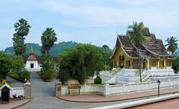 Royal Palace of Luang Prabang and Haw Pha Bang Royalty Free Stock Photography