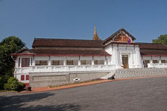 Royal palace in Luang Prabang Royalty Free Stock Image