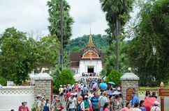 The Royal Palace in Luang Prabang Royalty Free Stock Photo