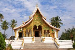 Royal Palace in Luang Prabang, Laos Stock Image