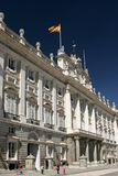 Royal Palace in Madrid stock afbeelding