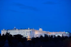 Royal Palace, Madrid Stock Image