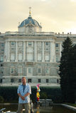 Royal Palace of Madrid. Royalty Free Stock Photography