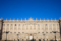 Royal Palace in Madrid Stock Photography