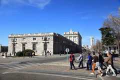 Royal Palace, Madrid Stock Photo