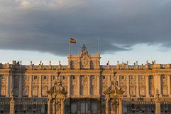Royal Palace of Madrid Royalty Free Stock Image
