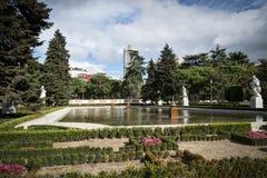 Royal Palace Madrid Royalty Free Stock Photos