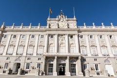 Royal Palace, Madrid Stock Photography