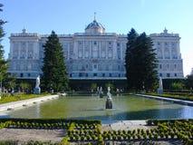 Royal Palace - Madrid Stock Image