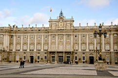 Royal Palace, Madrid Stock Photography