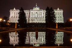 Royal Palace of Madrid Royalty Free Stock Photos