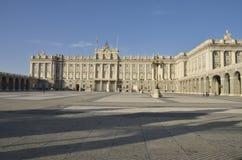 Royal Palace of Madrid Royalty Free Stock Image