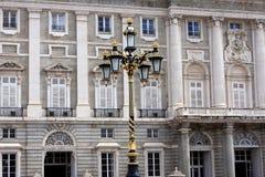 Royal palace, Madrid Royalty Free Stock Photography