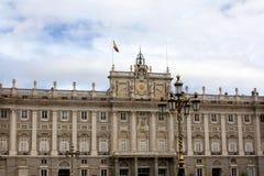 Royal palace, Madrid Stock Images