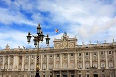 Royal palace, Madrid Royalty Free Stock Photo