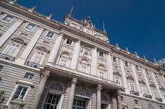 The Royal Palace of Madrid (Palacio Real de Madrid). Stock Photo