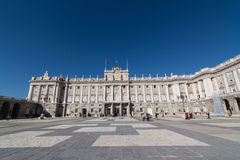 Royal Palace, Madrid Stock Photos
