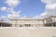 Royal Palace Madrid, Spagna Fotografie Stock Libere da Diritti