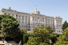 Royal Palace Madrid, Spagna Fotografia Stock