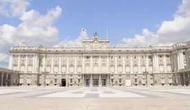 Royal Palace Madrid, Spain Stock Photography